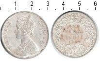 Изображение Монеты Индия 1 рупия 1882 Серебро XF Виктория.