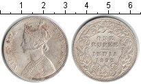 Изображение Монеты Азия Индия 1 рупия 1892 Серебро XF