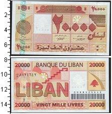 Изображение Банкноты Азия Ливан 20000 ливров 0  UNC