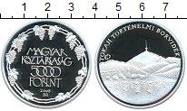Изображение Монеты Венгрия 5000 форинтов 2008 Серебро Proof-