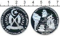 Изображение Монеты Африка Сахара 1000 песет 2000 Серебро Proof-
