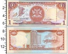 Изображение Банкноты Южная Америка Тринидад и Тобаго 1 доллар 2006  UNC-