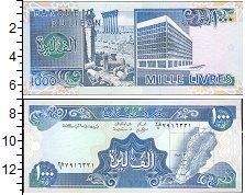 Изображение Банкноты Азия Ливан 1000 ливр 0  UNC-
