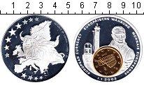Изображение Монеты Либерия 1 доллар 2002  Proof-