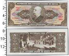 Изображение Банкноты Южная Америка Бразилия 5 крузейро 1964  UNC-