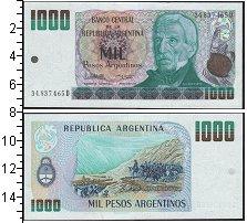 Изображение Банкноты Аргентина 1000 песо 0  UNC-