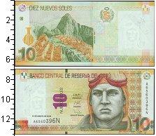 Изображение Банкноты Южная Америка Перу 10 соль 2009  UNC