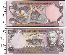 Изображение Банкноты Северная Америка Никарагуа 100 кордобас 1984  UNC
