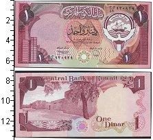 Изображение Банкноты Азия Кувейт 1 динар 1980  UNC
