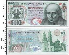 Изображение Банкноты Северная Америка Мексика 10 песо 0  UNC