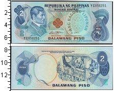 Изображение Банкноты Азия Филиппины 2 писо 0  UNC-