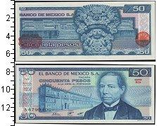 Изображение Банкноты Мексика 50 песо 1981  UNC-