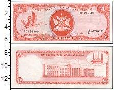 Изображение Банкноты Тринидад и Тобаго 1 доллар 1964  UNC-