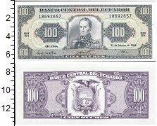 Изображение Банкноты Южная Америка Эквадор 100 сукре 1994  UNC-