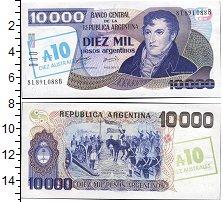 Изображение Банкноты Южная Америка Аргентина 10000 песо 0  UNC-