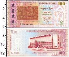 Изображение Банкноты Азия Бангладеш 100 так 2013  UNC