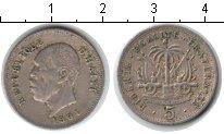 Изображение Монеты Северная Америка Гаити 5 сантим 1904 Медно-никель