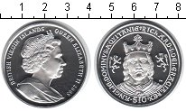 Изображение Монеты Северная Америка Виргинские острова 10 долларов 2008 Серебро Proof