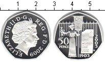 Изображение Монеты Европа Великобритания 50 пенсов 2009 Серебро Proof-