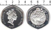 Изображение Монеты Австралия и Океания Соломоновы острова 10 долларов 2007 Серебро Proof