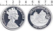 Изображение Монеты Гибралтар 5 фунтов 2008 Серебро Proof-