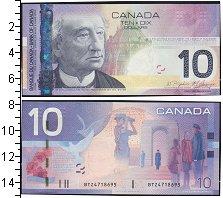Изображение Банкноты Канада 10 долларов 2005  UNC