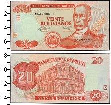 Изображение Банкноты Боливия 20 боливиано 1986  UNC-