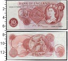 Изображение Банкноты Европа Великобритания 10 шиллингов 0  UNC-