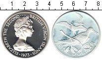 Изображение Монеты Северная Америка Виргинские острова 1 доллар 1973 Серебро Proof-
