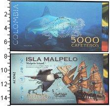Изображение Банкноты Колумбия 5000 кафетерос 0  UNC