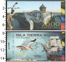 Изображение Банкноты Колумбия 2000 кафетерос 0  UNC