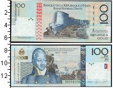 Изображение Банкноты Северная Америка Гаити 100 гурдов 2010  UNC
