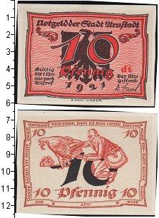 Изображение Банкноты Веймарская республика 10 пфеннигов 1921  XF
