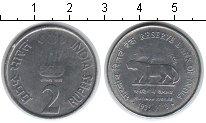 Изображение Мелочь Индия 2 рупии 2010 Медно-никель XF