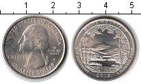 Изображение Мелочь США 1/4 доллара 2013 Медно-никель UNC Национальный лес Бел