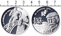 Изображение Монеты Европа Франция 1 1/2 евро 2003 Серебро Proof