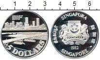 Изображение Монеты Азия Сингапур 5 долларов 1982 Серебро Proof
