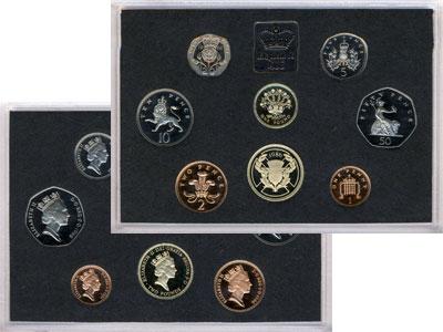 Изображение Подарочные монеты Европа Великобритания Выпуск монет 1986 1986  Proof