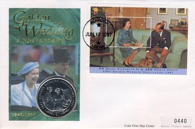 Изображение Подарочные монеты Либерия 1 доллар 1997 Медно-никель UNC
