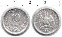 Изображение Монеты Мексика 10 сентаво 1892 Серебро XF