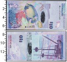 Изображение Банкноты Бермудские острова 10 долларов 0  UNC-