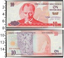 Изображение Банкноты Турция 10 лир 0  UNC
