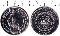 Изображение Монеты Либерия 1 доллар 1993 Медно-никель UNC-