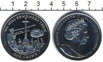 Изображение Мелочь Великобритания Фолклендские острова 1 крона 2014 Медно-никель UNC