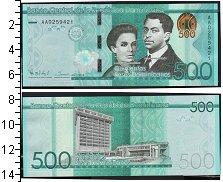 Изображение Банкноты Северная Америка Доминиканская республика 500 песо 2014  UNC