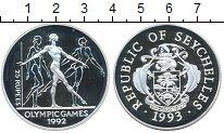 Изображение Монеты Африка Сейшелы 25 рупий 1992 Серебро Proof-