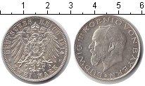 Изображение Монеты Германия Бавария 2 марки 1914 Серебро XF
