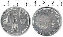Изображение Монеты Европа Бельгия 250 франков 1996 Серебро Proof-