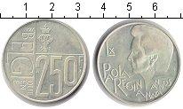 Изображение Монеты Европа Бельгия 250 франков 1997 Серебро Proof-