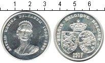 Изображение Монеты Бельгия 250 франков 1995 Серебро UNC-